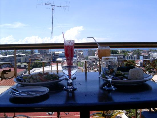 restaurant and bar area picture of munich rooftop restaurant iligan tripadvisor. Black Bedroom Furniture Sets. Home Design Ideas