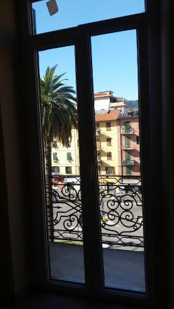 Affittacamere Lunamar: view from reception balcony