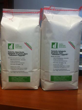 vendite calde acquista per genuino sconto del 50 Fibre di grano duo Senatore Cappelli - Foto di Molino ...