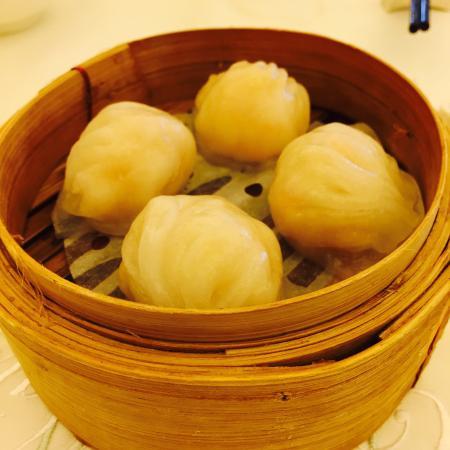 City Hall Maxim's Palace: Shrimp dumplings