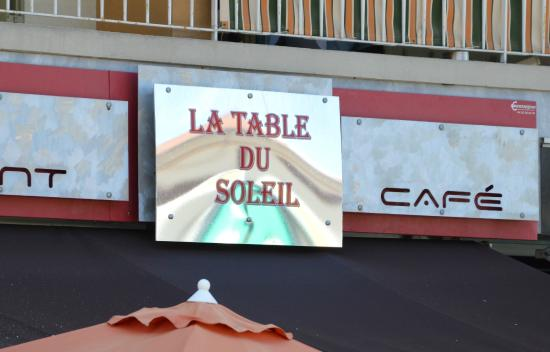 La Table du Soleil