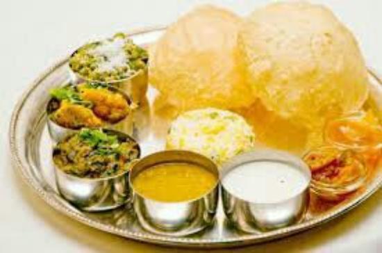Diamond Ring Pure Vegetarian Indian Restaurant Thali Wow