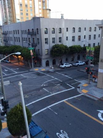 Hotel Majestic: view of Gough and Sudder from my room.
