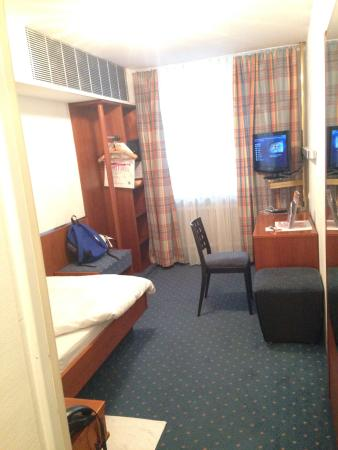 Hotel Unger beim Hauptbahnhof: シングルルーム