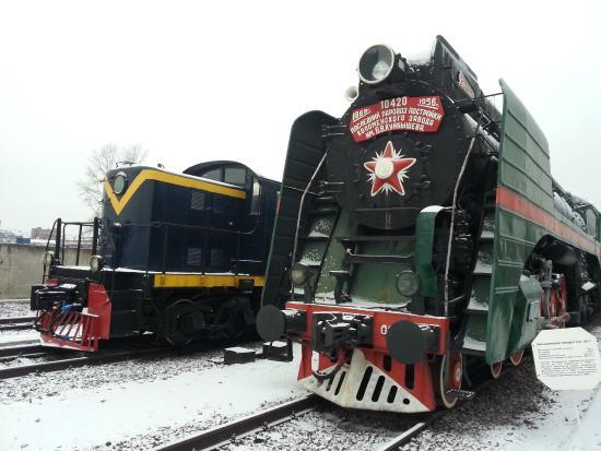 Museum of Railway Equipment: Музей паровозов