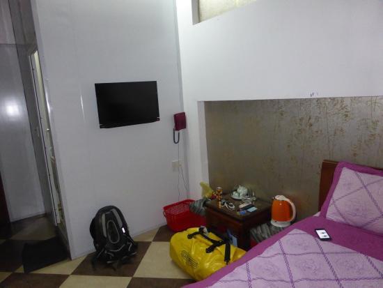 nasszelle im zimmer bild von asean vinh hotel vinh. Black Bedroom Furniture Sets. Home Design Ideas
