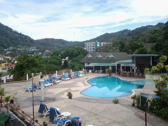 Royal Crown Hotel & Palm Spa Resort: Вид с моего балкона номера на третьем этаже