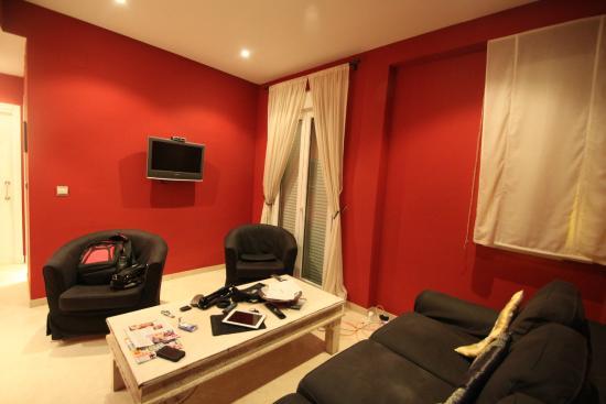 Life Apartments Giralda Suites: Sitting area