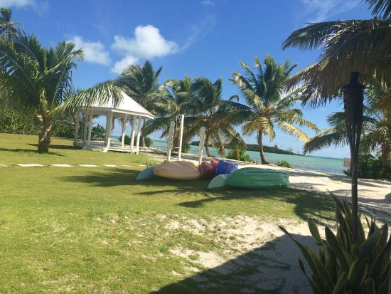 Swain's Cay Lodge : Kayaks