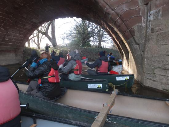 Wye Canoes Ltd: On the water and ready to go