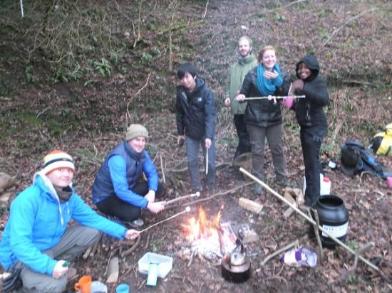 Wye Canoes Ltd: Fire -  bushcraft skills and roasted marshmallows
