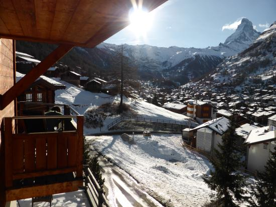 Alpenlodge: View from Matterhorn room window