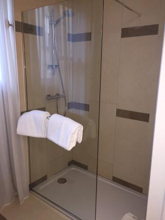 Mercure Poitiers Centre Hotel : Douche chambre standard
