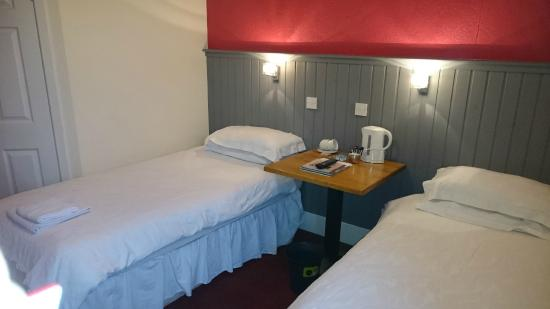 Restaurant in the Park: Hotel bedroom