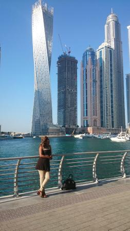 Emirate of Dubai, Uni Emirat Arab: DUBAI MARINA WALK JAN 2015
