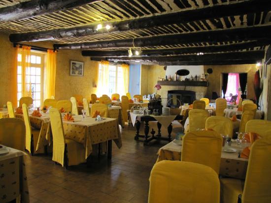 Logis Domaine de Roquerousse : Le restaurant