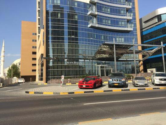 Nour Arjaan by Rotana - Fujairah: view from across the road