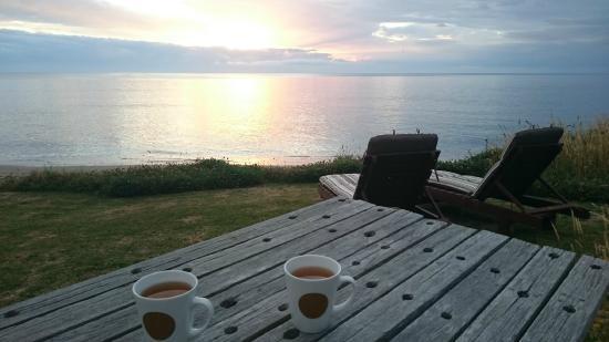 Seashore Bed & Breakfast: view from the terrace