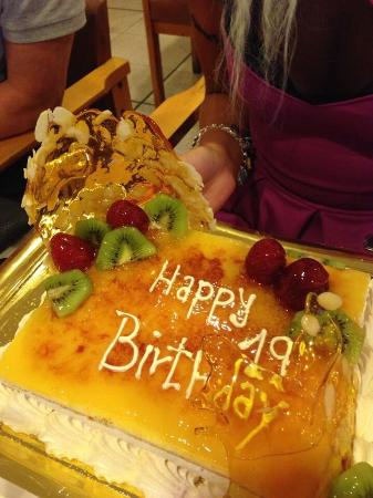 Hotel Don Pancho 19th Birthday Cake