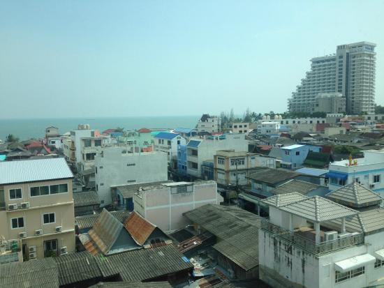 Hub Hua Hin 57 Hotel : Sea view room