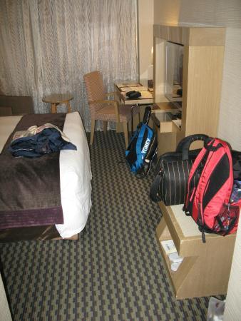 Tokyo International Hotel: chambre