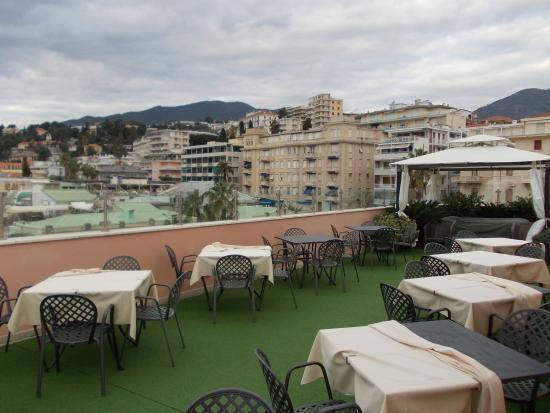 La terrazza con vista su Sanremo - Foto di Best Western Hotel ...