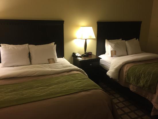 Comfort Inn & Suites: Room 417