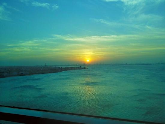 Elite Resort & Spa: Sunrise from my room