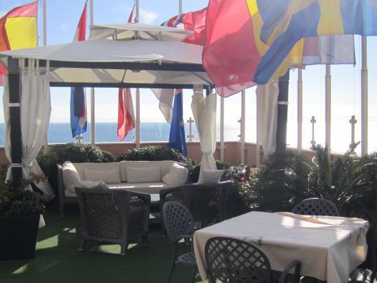 terrazza - Foto di Best Western Hotel Nazionale, Sanremo - TripAdvisor