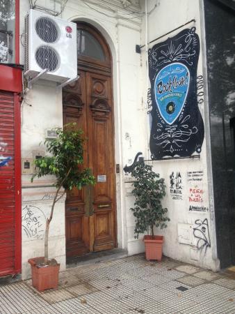Rock Hostel & Brewery: Fachada do Hostel