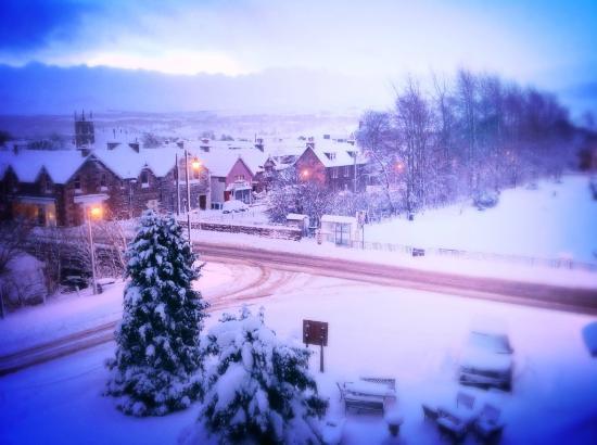 Duke of Gordon Hotel : Snow Covered Kingussie