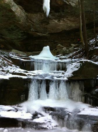 Rockbridge, OH: Winter Day
