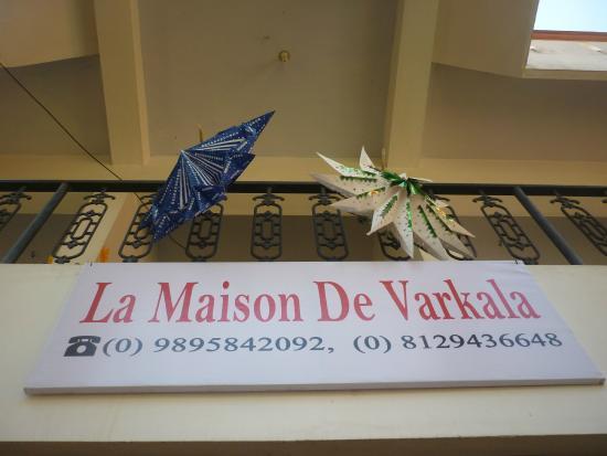 La Maison de Varkala: Façade
