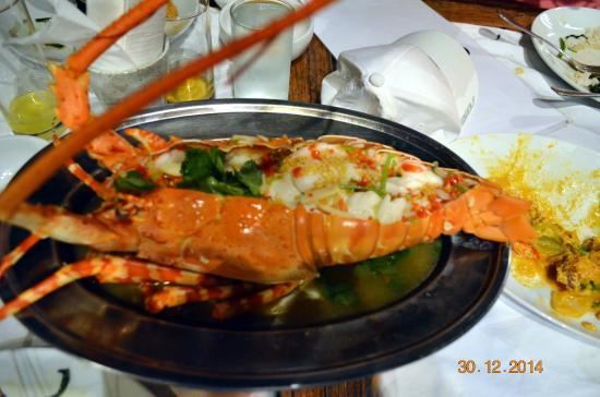 Kan Eang@Pier: This thing was 2 Kgs!