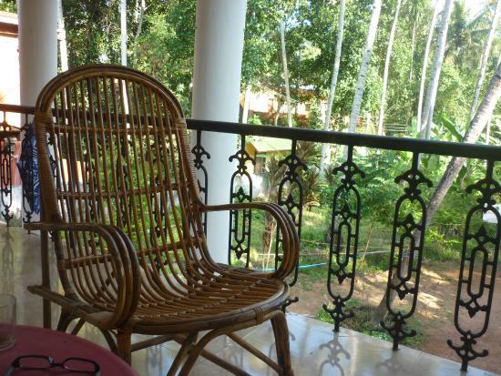 La Maison de Varkala: Balcon