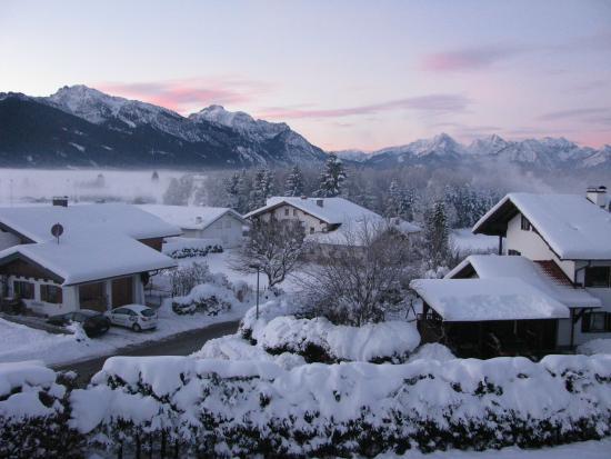 Hotel Alpenblick Berghof: Vista dal balcone