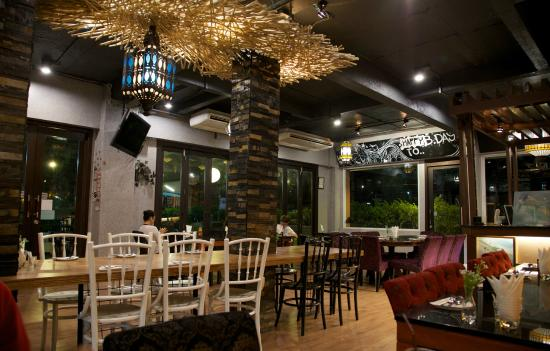 restaurant interiors picture of vietnamese and more bangkok tripadvisor. Black Bedroom Furniture Sets. Home Design Ideas