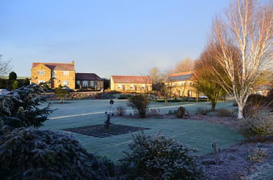 Clow Beck House: Winter