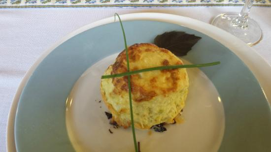 Tamborine Cooking School: Cheese and Leek Souffle - one of the eight courses we prepared