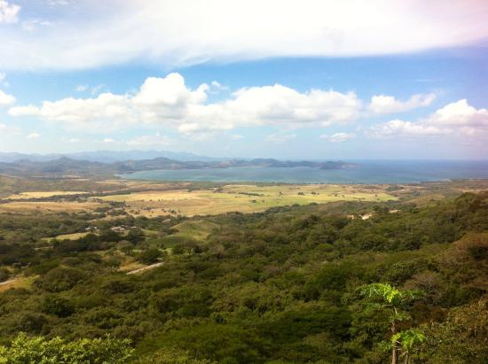 Hotel Amalia - La Cruz, Costa Rica: Special terrace view from hotel :-)