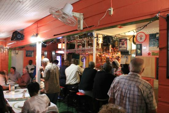 Rock Dundo, Barbados: Chris's Place Bar and Variety