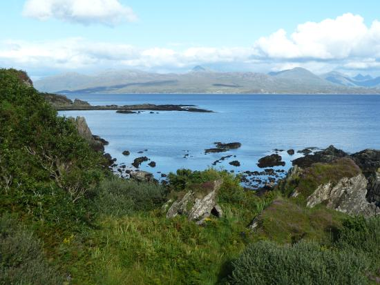 Morar Bed and Breakfast : View from the terrace