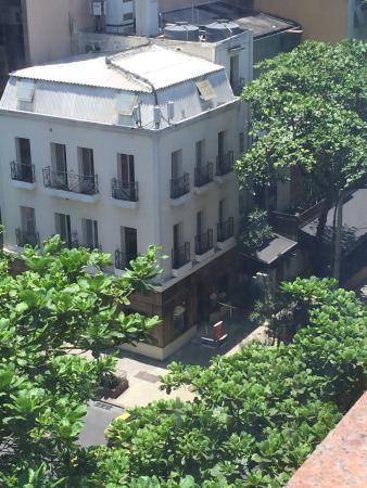 Terrasse Hostel : Vista do predio