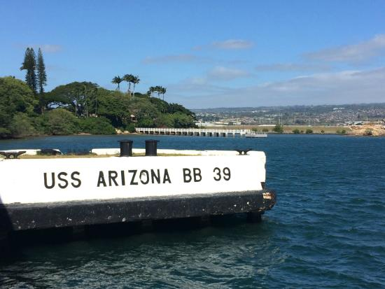 uss arizona memorial essay