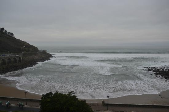 Hotel Itxas Gain Getaria: Not really a beach, is it