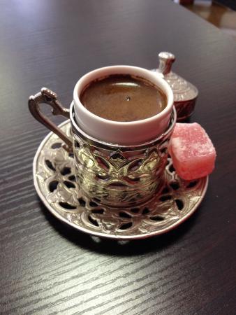 La Cappadoce : Café turc