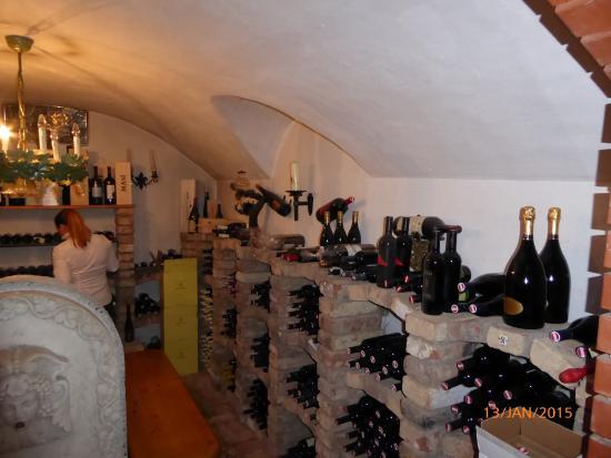 Villa Masianco: Wine Cellar