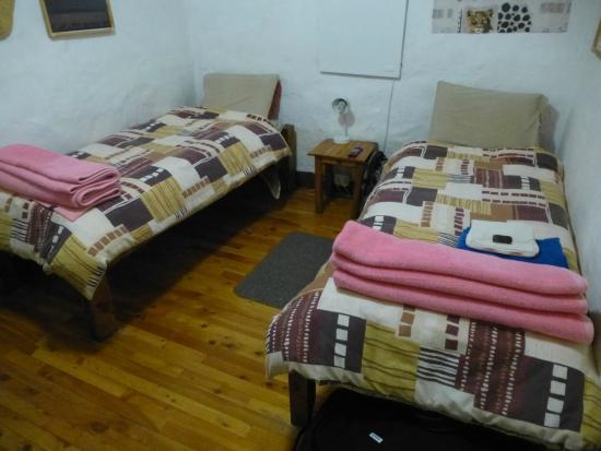 Sani Lodge Backpackers: Standardzimmer ohne Dusche/WC!