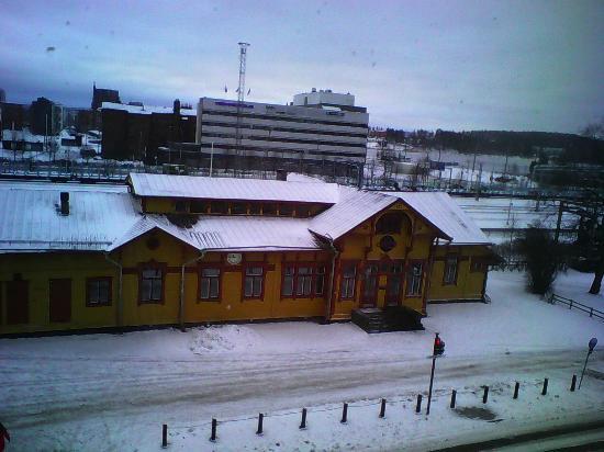 Original Sokos Hotel Alexandra: старое здание ж/д вокзала