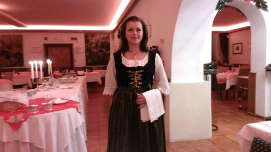 Hotel Trieste : traditional diner